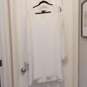 White House Black Market size 14 white dress